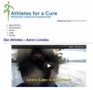 Athletes for a cure