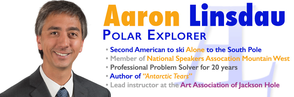 motivational speaker aaron linsdau