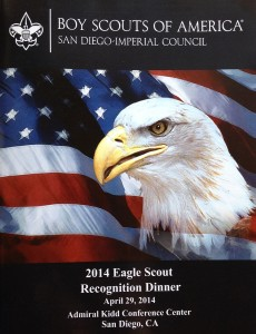 Eagle scout cover page