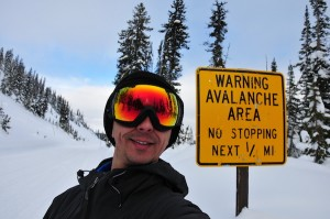Motivational speaker skiing across Yellowstone alone in the winter