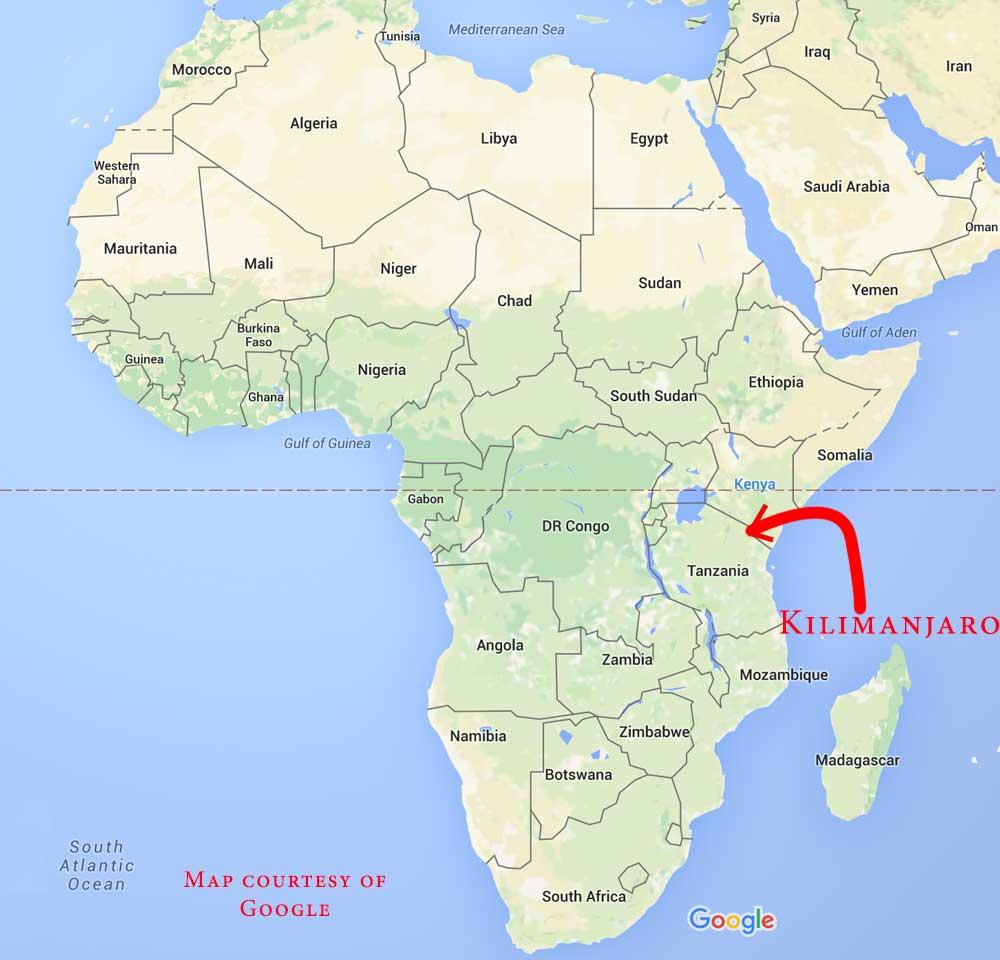 Kilimanjaro 2016 Aaron Linsdau Motivational Speaker